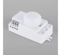 Микроволновый датчик движения 10м 1200W 360° IP20 Белый SNS-M-13