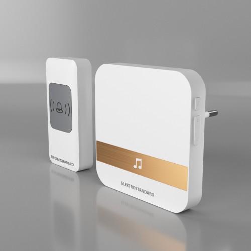 Звонок беспроводной WL 52M IP44 Белый DBQ24M
