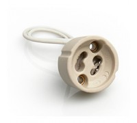 Патрон для светильника Патрон GU10 керамика