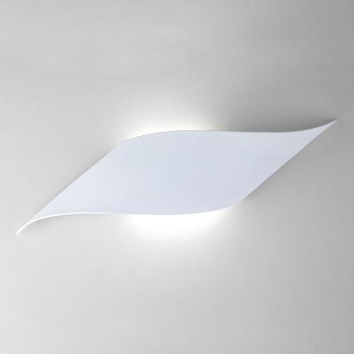 Настенный светодиодный светильник белый 40130/1 LED белый