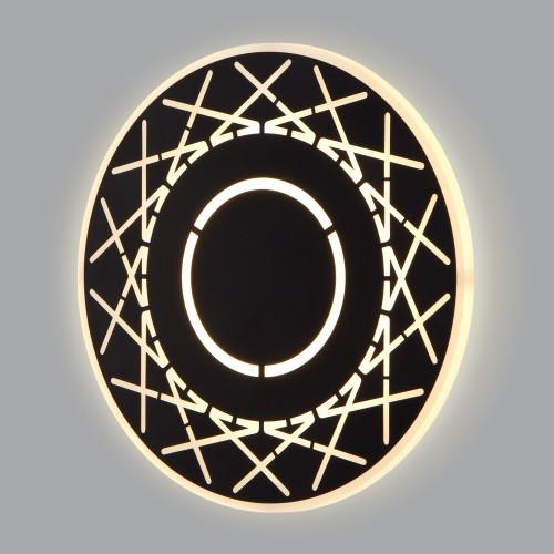 40148/1 LED черный / настенный светодиодный светильник 40148/1 LED