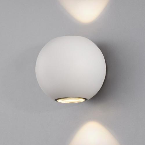 Diver белый уличный настенный светодиодный светильник 1566 TECHNO LED