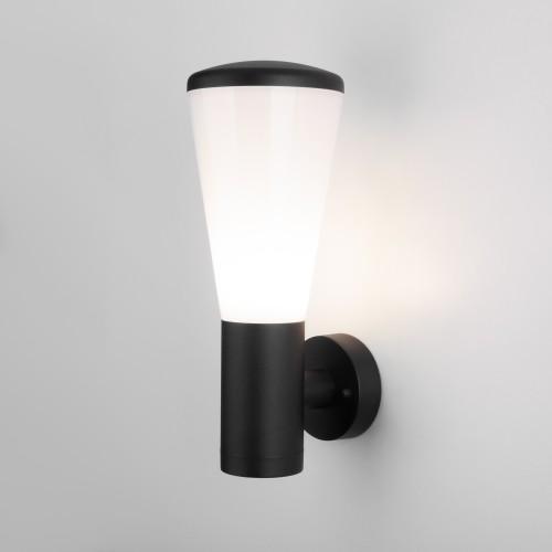 Настенный уличный светильник IP54 чёрный 1416 TECHNO