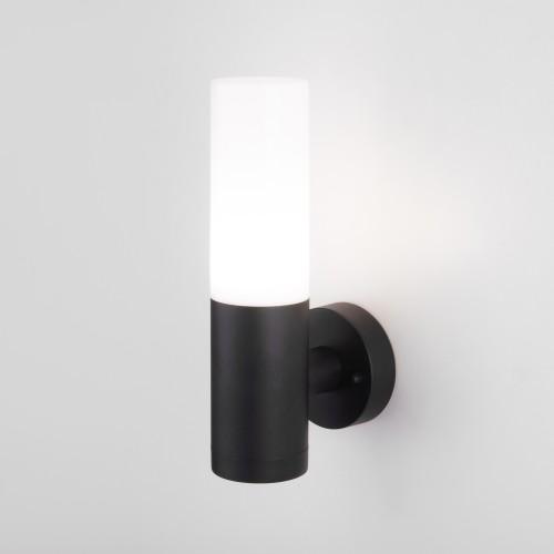 Настенный уличный светильник IP54 чёрный 1418 TECHNO