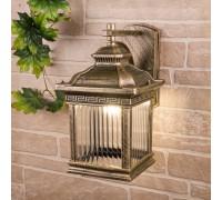 Sargas D черное золото Настенный уличный светильник IP33 GL 1027D