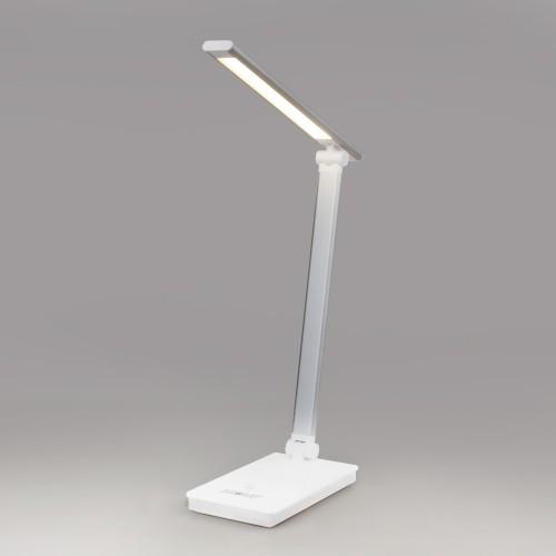Настольный светодиодный светильник 80423/1 серебристый 80423/1