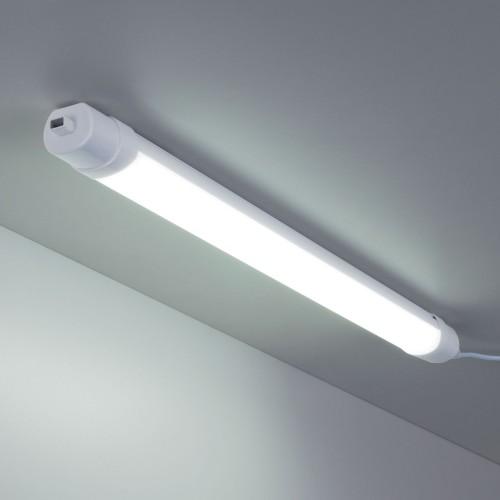 LED Светильник 60 см 18Вт Connect белый пылевлагозащищенный светодиодный светильник LTB35