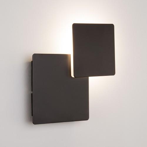 Настенный светодиодный светильник Чёрный 40136/1