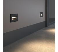 Подсветка для лестниц MRL LED 1109 чёрный
