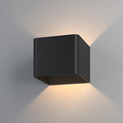 Corudo LED чёрный Настенный светодиодный светильник MRL LED 1060