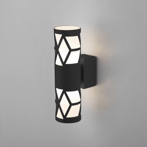 Fanc LED черный Настенный светодиодный светильник MRL LED 1023