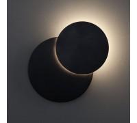 Настенный светодиодный светильник черный 40135/1