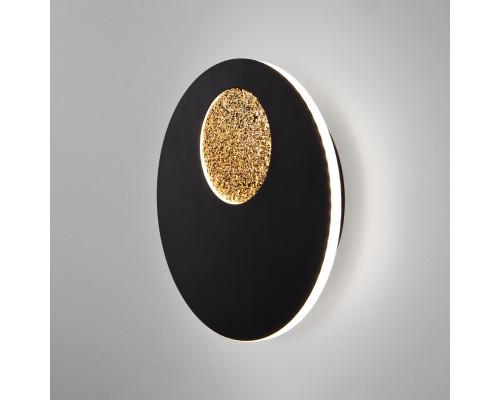 40150/1 LED черный /золото настенный светодиодный светильник 40150/1 LED