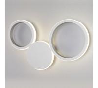 40141/1 LED серебро / настенный светодиодный светильник 40141/1 LED