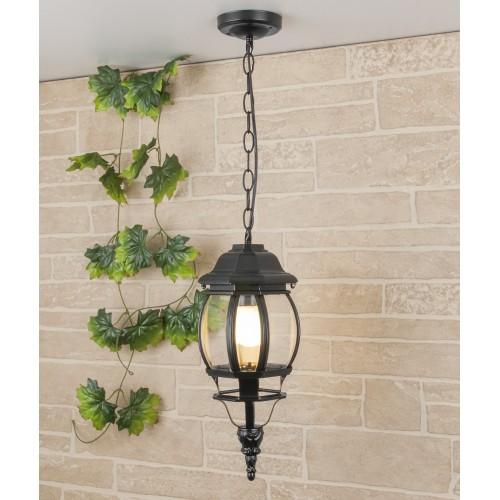 уличный подвесной светильник GL 1001H черный
