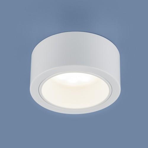 Накладной потолочный светильник 1070 GX53 WH белый