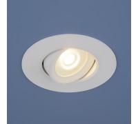Встраиваемый точечный светодиодный светильник 9914 LED 6W WH белый
