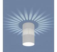 Накладной светодиодный светильник с подсветкой белый DLS026