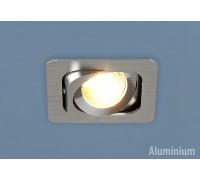 Алюминиевый точечный светильник 1021/1 MR16 CH хром