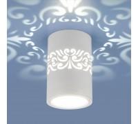 Накладной светодиодный светильник с подсветкой DLS025