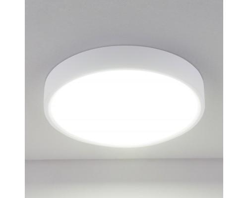 Накладной потолочный светодиодный светильник DLR034 18W 4200K