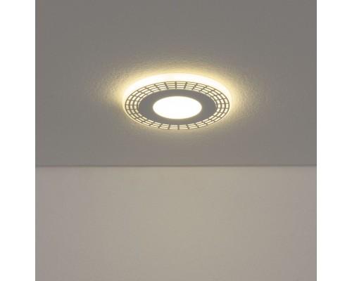Встраиваемый потолочный светодиодный светильник DSS001 3+3W 4200K