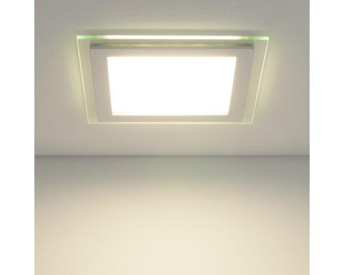 Встраиваемый потолочный светодиодный светильник DLKS160 12W 4200K белый