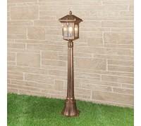 Corvus F черное золото уличный светильник на столбе IP44 GL 1021F