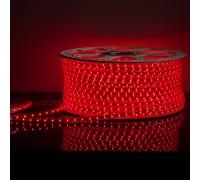Светодиодная лента LS004 220V 4,8W 60Led 2835 IP65 красный