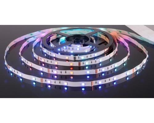 Светодиодная лента 5050/30 LED 7.2W IP20 мультиколор