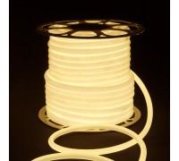 Светодиодный гибкий неон LS003 220V 9.6W 144Led 2835 IP67 16mm 4200K круглый дневной белый