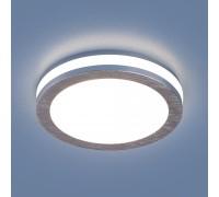 Светильник встраиваемый сатин/никель DSKR80 5W 4200K