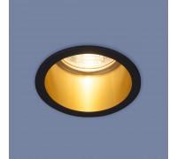 Встраиваемый точечный светильник 7004 MR16 BK/GD черный/золото