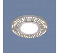 Встраиваемый точечный светильник со светодиодной подсветкой 2231 MR16 CH хром