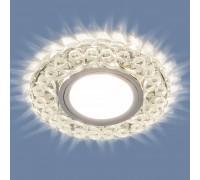 Встраиваемый точечный светильник с LED подсветкой 2234 MR16 CL прозрачный