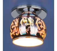 Точечный светильник 1102 G9 SL зеркальный