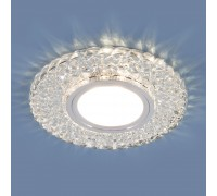 Встраиваемый точечный светильник с LED подсветкой 2235 MR16 CL прозрачный