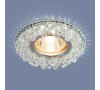 Встраиваемый точечный светильник с LED подсветкой 2211 MR16 CL прозрачный