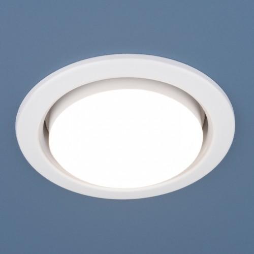 Встраиваемый точечный светильник, комплект 10 шт 1035 GX53 WH
