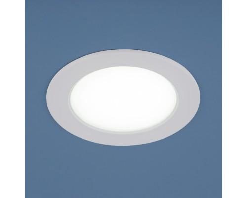 Встраиваемый точечный светодиодный светильник 9911 LED 6W WH белый