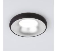 Встраиваемый точечный светильник 118 MR16 серебро/черный