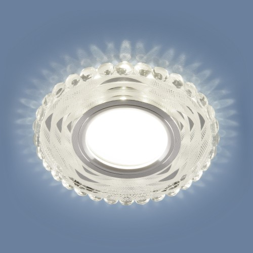 Встраиваемый точечный светильник с LED подсветкой 2246 MR16