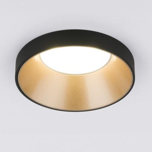 Встраиваемый точечный светильник 112 MR16 золото/черный