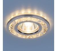 Точечный светодиодный светильник 8355 MR16 CL/CH прозрачный/хром