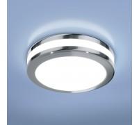 Светильник встраиваемый хром DSKR80 5W 4200K
