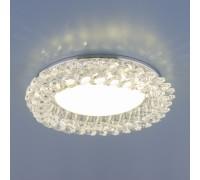 Точечный светильник с хрусталем 1063 GX53 CH / CL хром / прозрачный