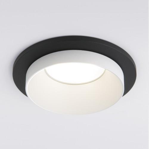 Встраиваемый точечный светильник 114 MR16 белый/черный