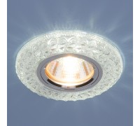 Встраиваемый точечный светильник со светодиодной подсветкой 2180 MR16 CL прозрачный