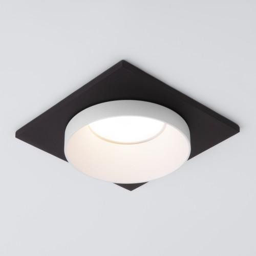 Встраиваемый точечный светильник 117 MR16 белый/черный