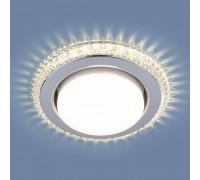 Встраиваемый точечный светильник с LED подсветкой 3031 GX53 CL прозрачный